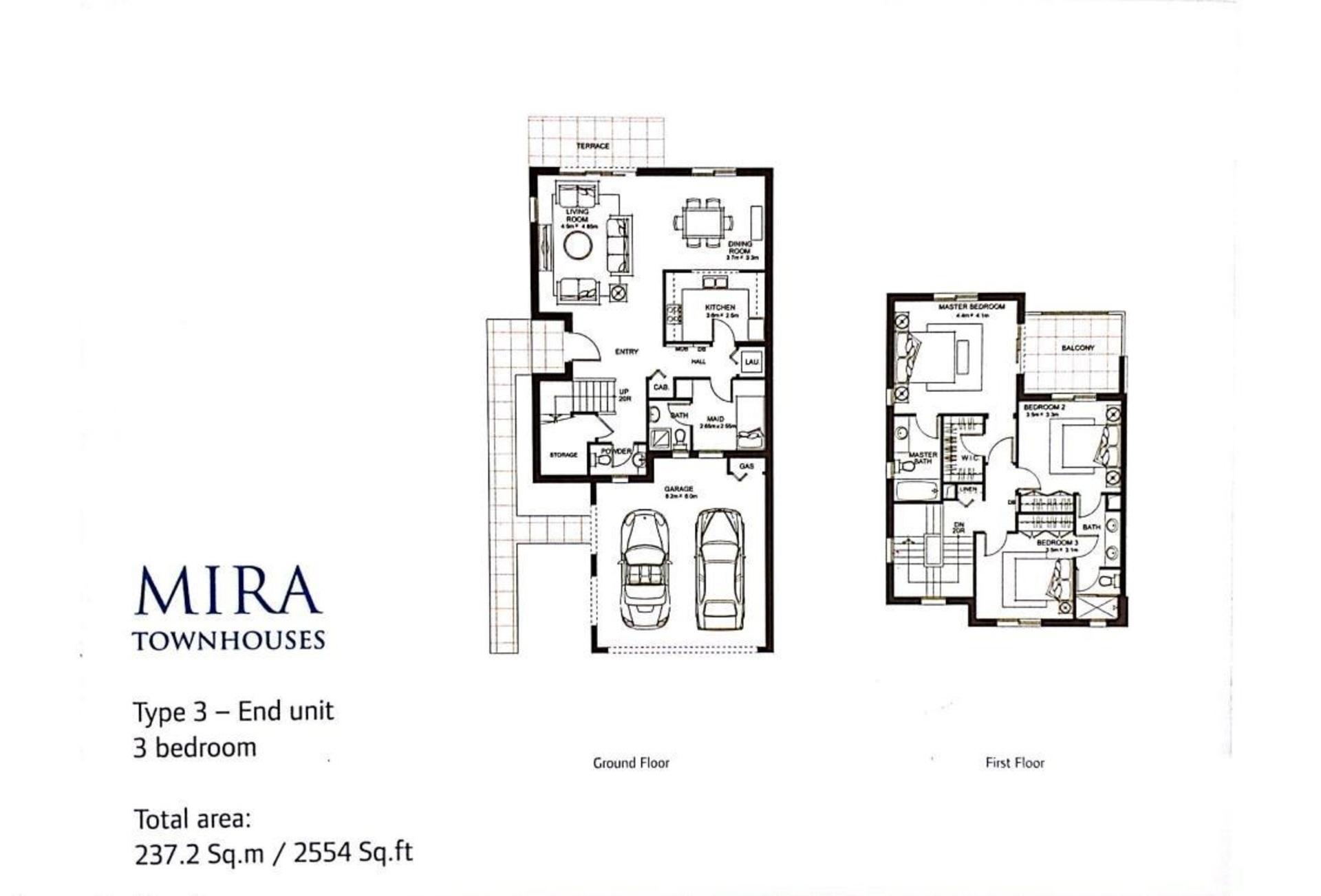 PHASE 4 – TYPE 3E @ MIRA, Single Row 3BR + Maid's + Big Storage Room